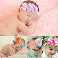 K2013 ids hair bands for girls headbands baby top baby hats flower designer hair accessories