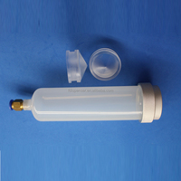 2016 new product 300CC double barrel syringe