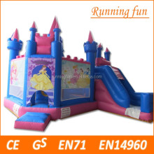 New Design Hot Inflatable princess Bouncer Combo/ Bouncy Castle/ Bounce House Jumper for Kids Play
