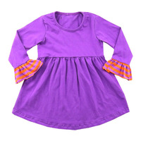 Kaiyo wholesale baby clothing brand name girl frock dress