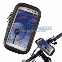 Universal Auto Waterproof Motorcycle Bike Bicycle Mount Phone Holder Bag Case soporte for Samsung S3 S4 S5