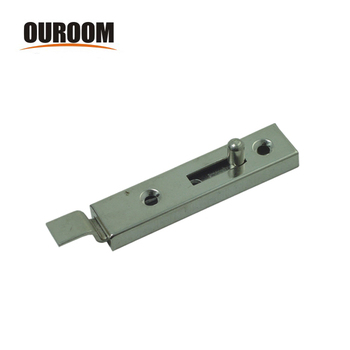 Ouroom OEM wholesale products 160215 steel material door barrel bolt with strike and screws