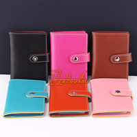 Zongshu wholesale leather name business card holder
