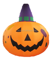 Giant halloween decoration inflatable pumpkin