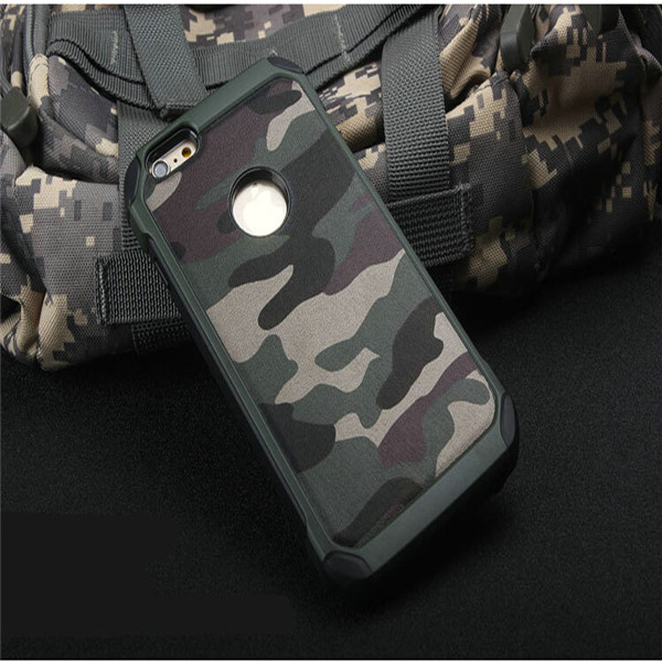 Camo Camouflage Shockproof Dual Protective Hard Rugged Armor Case Cover for iPhone6
