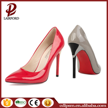 Free sample China wholesale 2016 new design grey Stiletto Heels For Women