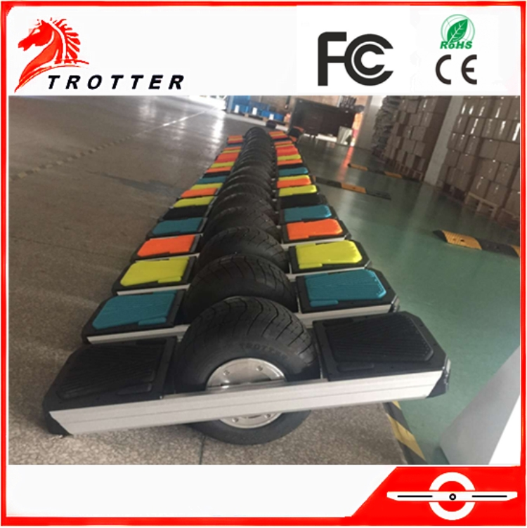 2017 trotter one wheel sport electric skateboard hover board with 11inch big wheels factory wholesale