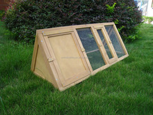 Wooden dog house/Triangle Rabbit Hutch