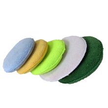 2018 Amazon Selling Polish Sponge, Microfiber Car Waxing Accessory, Microfiber Applicator Sponge Pads