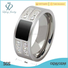 New silver titanium steel puzzle ring jewelry, new model ring