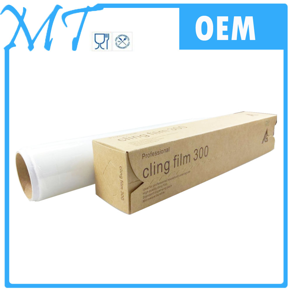 Soft Hardness and PE Material japanese cling saran wrap film for food