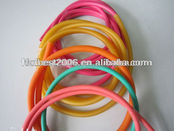 Latex tubing with good elastic for sports/bungee,Sports goods by Latex tubing