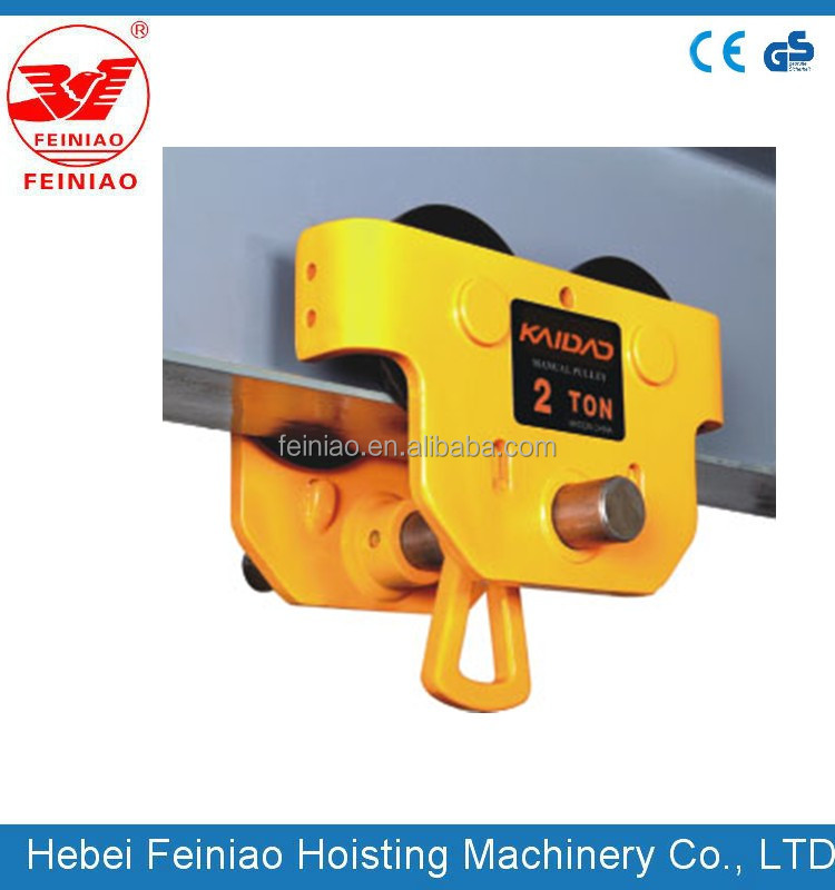 Hot Selling Steel Wire Rope Electric telpher Hoist with CE ISO