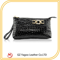 Leopord Skin Wristlet Evening Bag