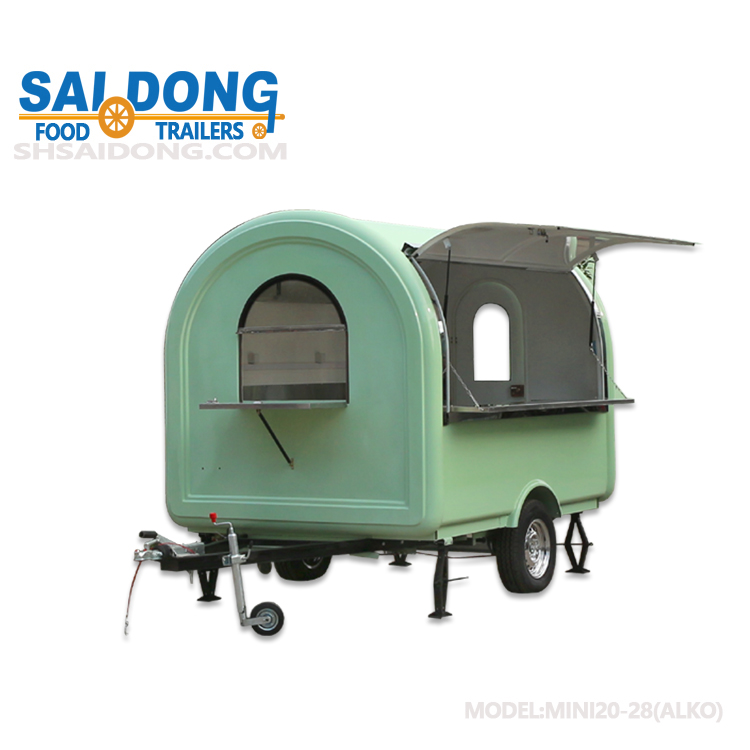 Shanghai Newly design mobile ice cream vending cart for customized design