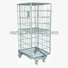 heavy duty 4 wheels roll trolleys