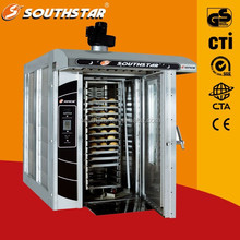 100% manufacturer supplier PLC Computer panel rotary oven bakery materials with good price