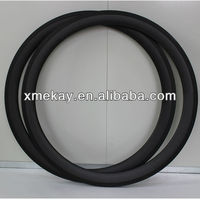 2013 Hot sale 700C 50MM Road /track Bicycle Clincher Carbon Rim with width 23mm tracking wheel