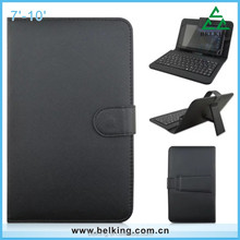 USB Universal Bluetooth Keyboard Leather Stand Holder Case For 7 8 9 10 ''