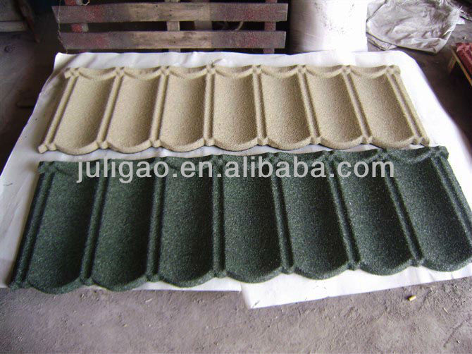 Stone Metal Roofing/Brown Color Metal Roof Tile/Roofing Sheet