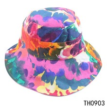 TOROS wholesale fashion bucket hat colorful cheap 100 cotton bucket hat