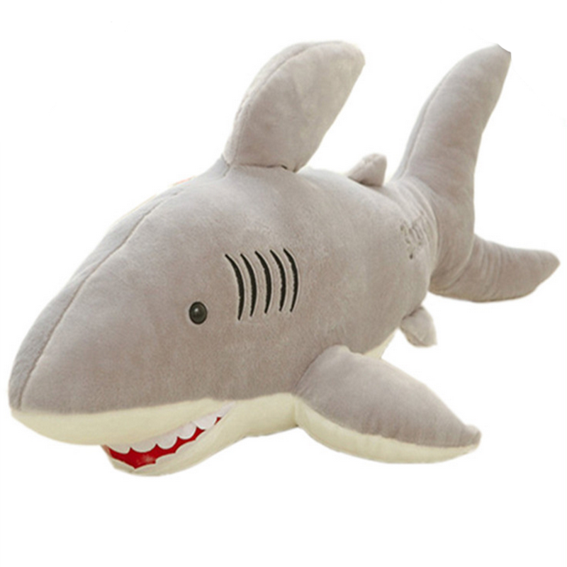Factory customized shark stuffed animals animated super soft stuffed shark toy sea animal shark <strong>plush</strong>