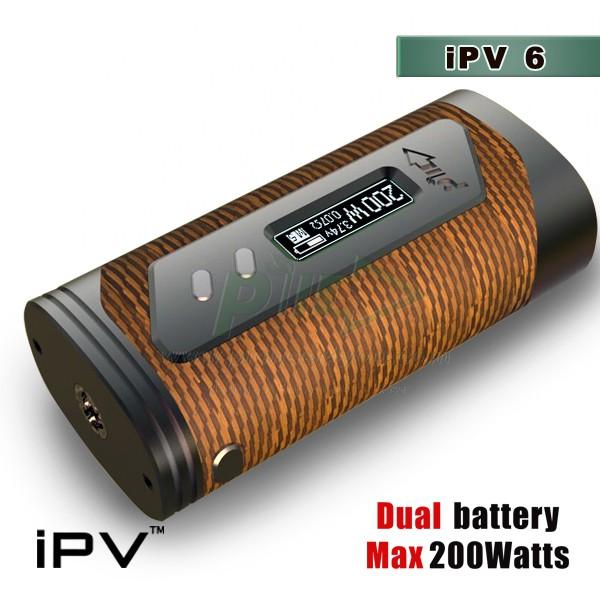 2016 newest box mod iPV 6X,vape mod with dual batteries,new model ipv400/ipv 6x/ipv Yaris, vape pen,best selling