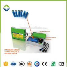 lithium ion battery 12v 100ah pack 18650 for solar street light