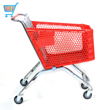 wholesale unregularly supermarket portable shopping cart customed grocery store germany smart plastic shopping cart