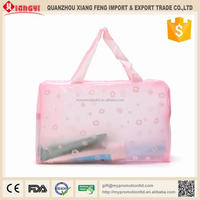Strong quality japan style foldable designer cosmetic bags sale