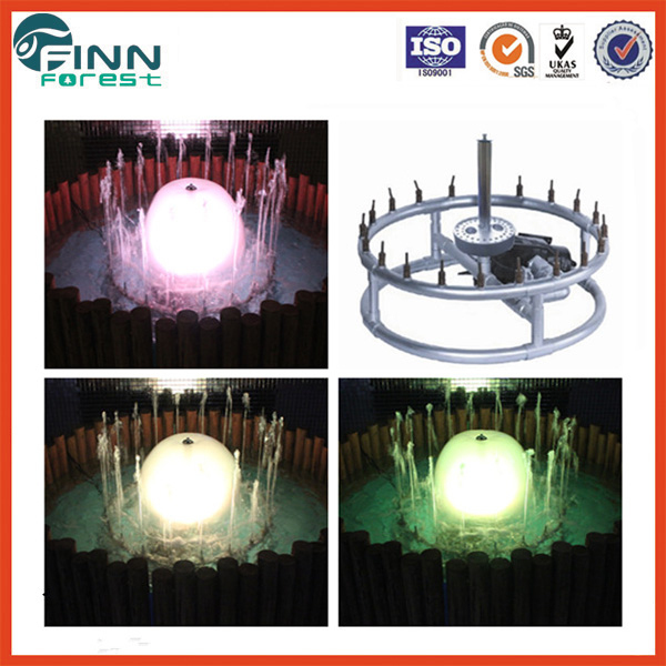 Mini LED light water fountain indoor water feature