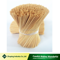 ZHUPING bleached round bamboo stick for incense