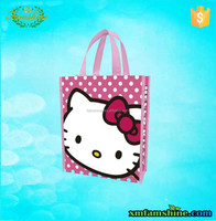 canvas reuseable lovely tote shopping bag