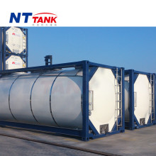 25000L transport stainbless steel shipping container size and price