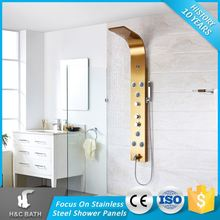 Hot Quality Spray Jets Sanitary Ware Thermostatic Shower Panel