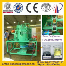 Black car engine oil recycling system/ used motor oil regeneration purification / mobile oil purifier