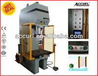 "Have Shield Cap,INT'L Brand-""Accurl"",High quality low price,YQ41 series C frame hydraulic shop press for SGS & CE certificate"