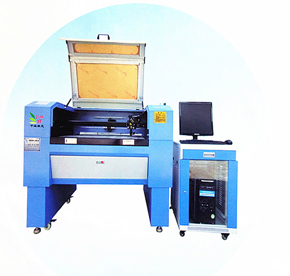 Automatic camera positioning trademark laser cutting machine