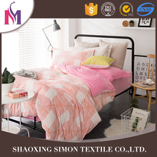 Factory Supplier Emboss Flannel Bedsheet Cotton Set Smocked Bedding Sets