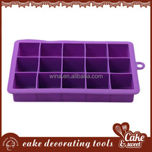 Eco-Friendly silicone cake mould 3D silicone soap mold