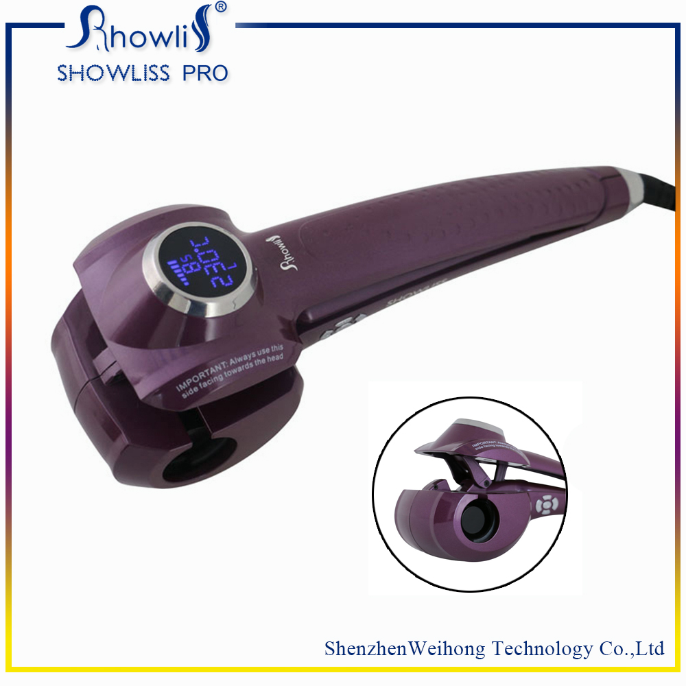 2017 New LCD Screen Hair Curler Styler Heating Hair Styling Tools Automatic Hair Curl Roller Curling Wand