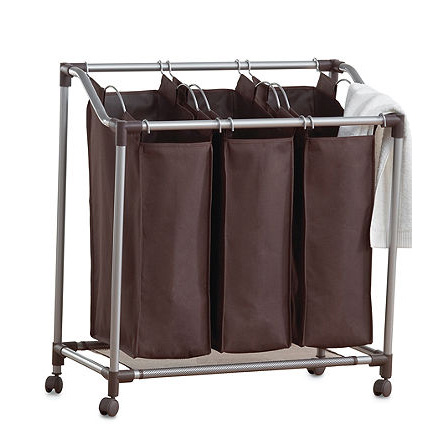 blanchisserie triple sorter panier linge panier sac panier linge id de produit 60006992588. Black Bedroom Furniture Sets. Home Design Ideas