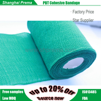 High Quality PBT Coheisve Bandage double sided cotton fabric