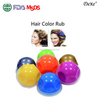 OEM logo brand fashion temporary professional hair dye color 12 colors free sample