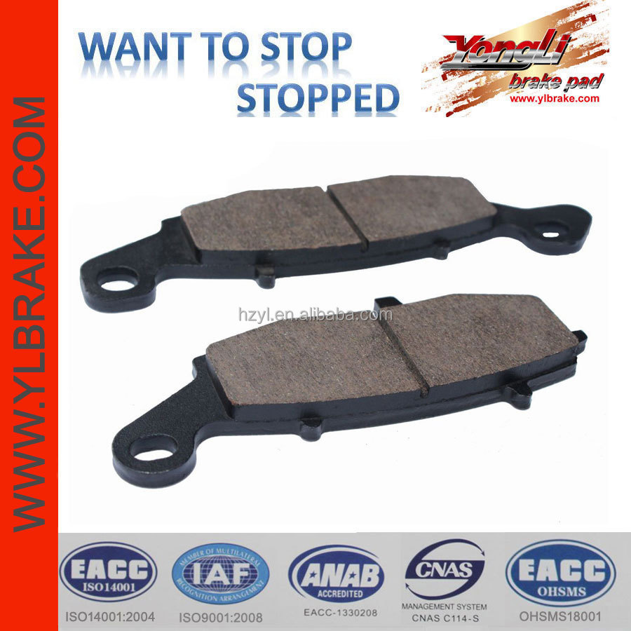 no noise manufacture Disc brake pads,kawasaki brake pad,Kevlar Brake Pads