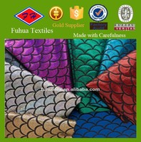 Waterproof Fish Scale Spandex Fabric for Stage Wear