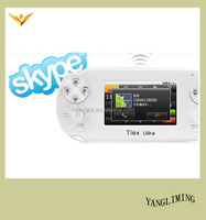2016 NEWEST Android handheld game console Tlex Ulike support WIFI/SKYPE
