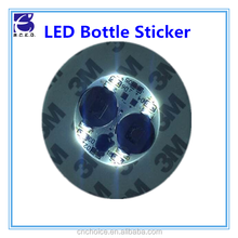 Bright LED Mat With Self Adhesive For Clear Bottle OR Glass