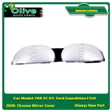 MIRROR COVERS FOR 97-03 Ford Expedition F150 Chrome Mirror Cover