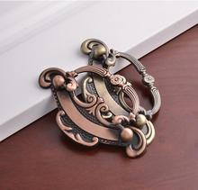 China classical zinc alloy anqitue cabinet handle, Oriental furniture cabinet door handle